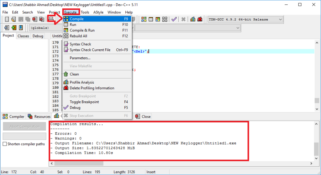 How to make your own powerful C++ Keylogger