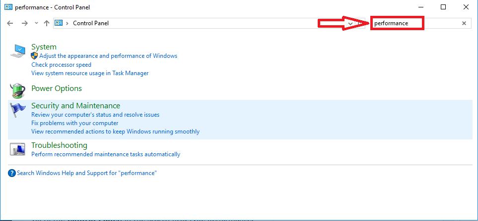 Windows 10 slow performance