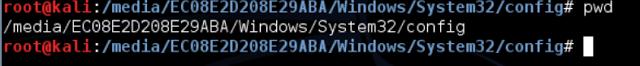 Reset Windows Password using Kali Linux