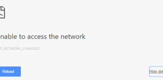 ERR_NETWORK_CHANGED in Chrome