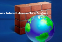 Block a Program from Accessing the Internet in Windows 10