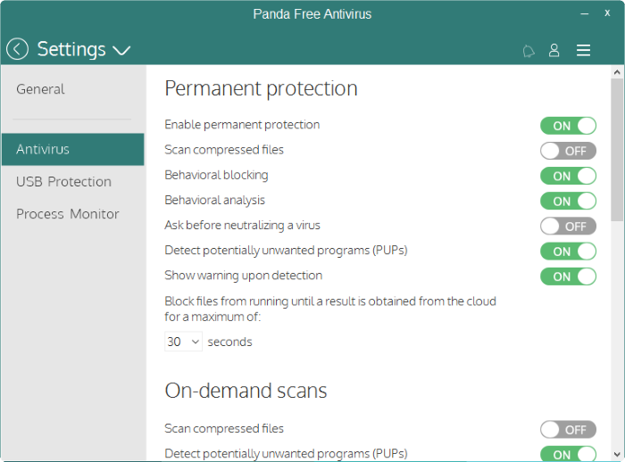 virus protection free for windows 10